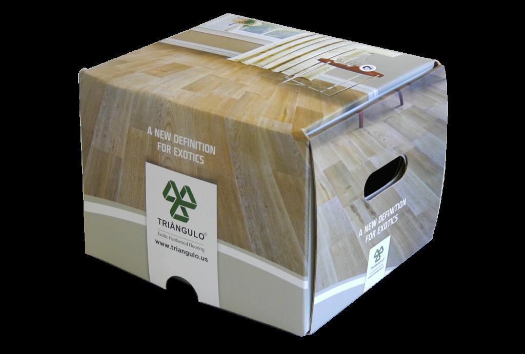 impressão de caixa de amostras feita pela gráfica everest